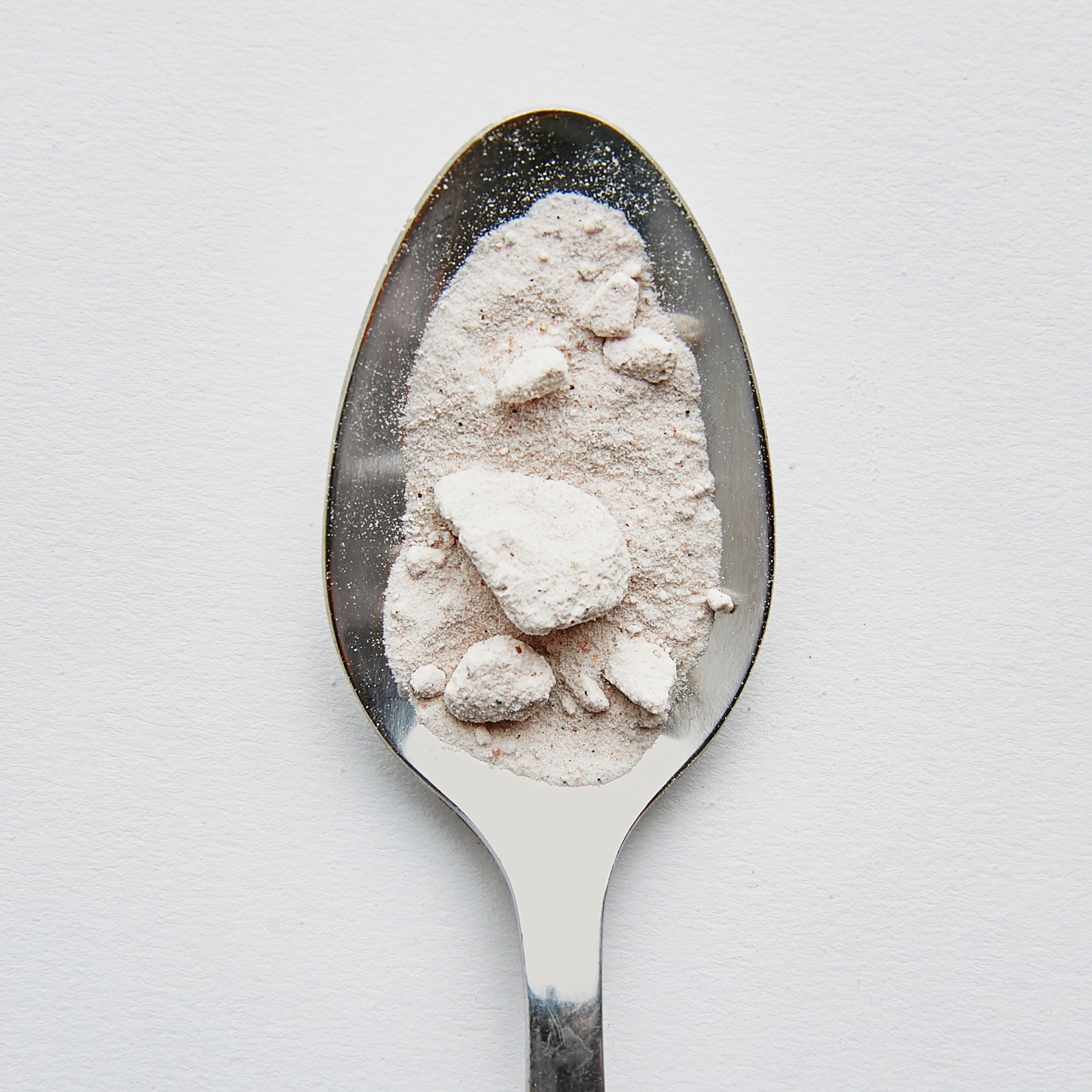 Image may contain Cutlery Spoon Powder Flour and Food