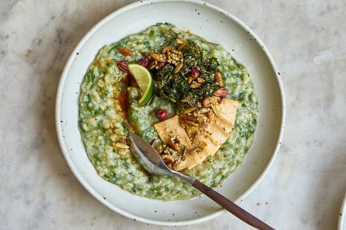 Life Changing Green Rice Porridge