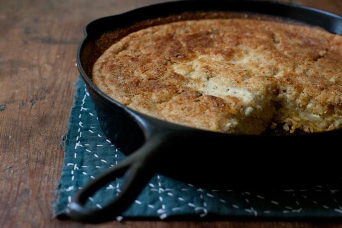 Quinoa Skillet Bread Recipe